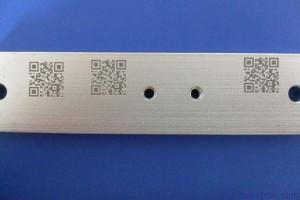 aluminium graveren qr code graveren barcode graveren