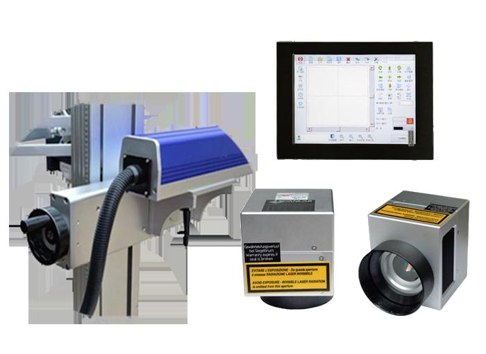 emballage productielijn graveermachine graveerlaser metaal en kunststof graveren