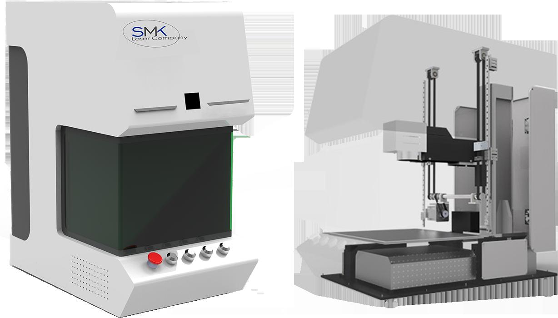 graveerlaser metaal graveren cube SMKLaser