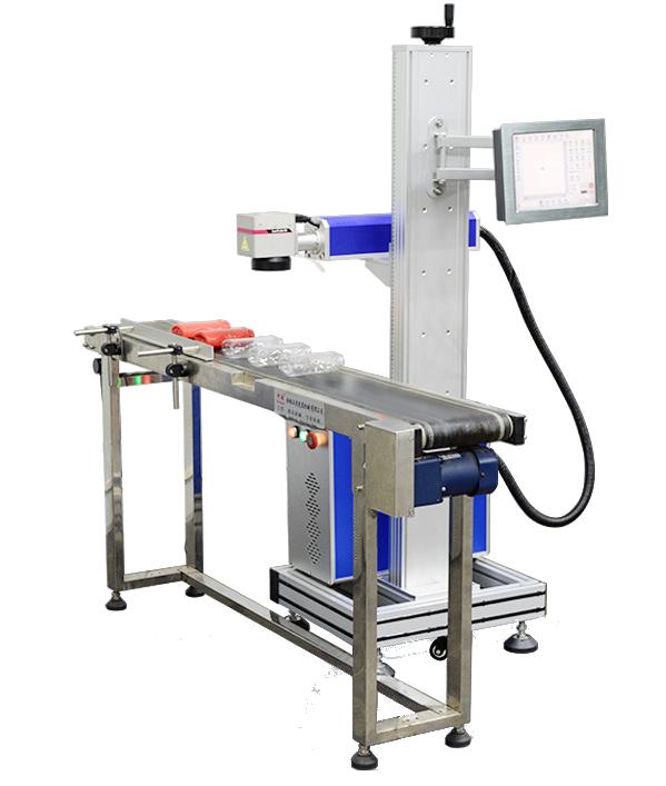 graveerlaser metaal en kunststof graveren lopende band laser